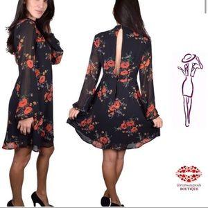 Black chiffon dress. Reserved for jedanny1369